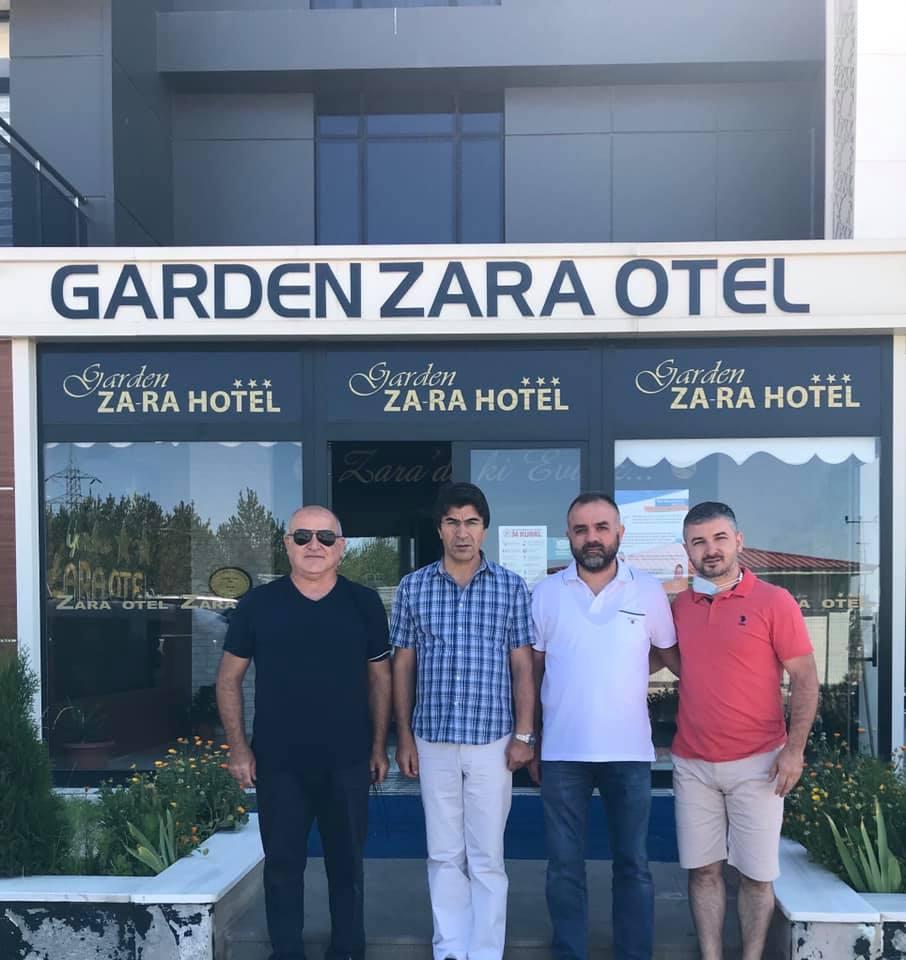 DEĞERLİ İŞ ADAMLARIMIZ GARDEN ZARA'DA KONAKLADI!