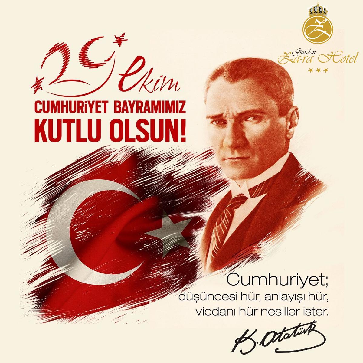 29 Ekim Cumhuriyet Bayramı!